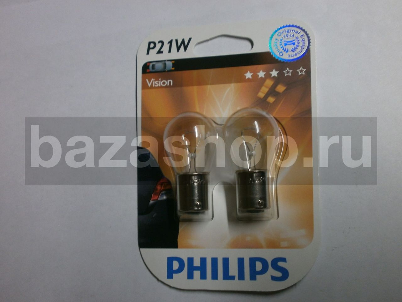 Лампа автомобильная ОРИОН Ba15s-1156 6smd